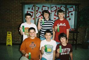 Past MATHCOUNTS Contest Winners