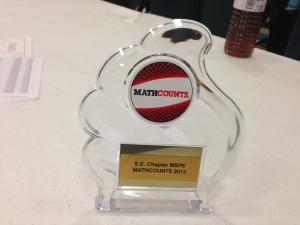 Winners at MATHCOUNTS