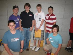 Past MATHCOUNTS Contest Winners