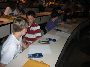 Getting ready for MATHCOUNTS Contest