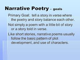 Video: Narrative Poetry