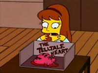 The Simpsons version of The Tell Tale Heart