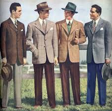 1940's Men's style ideas