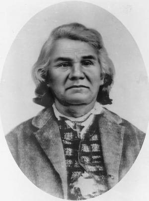 Cherrokee Chief Stand Whatie, last Confederate General to surrender June 1865