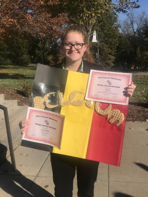2nd Place - Flag Interpretation and Essay Contest (Belgium)
