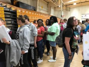 Sept 26, 2017 Three Rivers Community College Tour