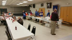 Key Club helping with Kiwanis Fish Fry in October