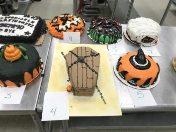 Halloween Cake Decorating 2018