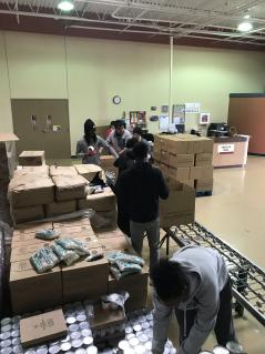 Culinary Arts Food Bank Fieldtrip