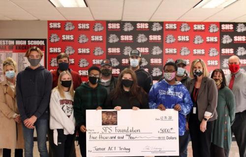 Jaycee Donation to the Foundation