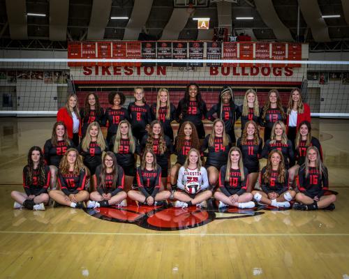2021-22 Sikeston Volleyball Team