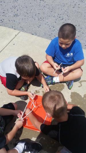 Making square bubbles