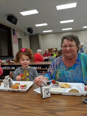 Grandparent Breakfast 2019