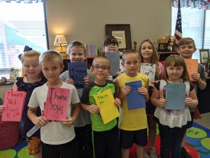 Mrs. Leasure 2nd Grade-Independence Co. Sheriff Office- cards