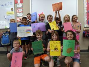 Mrs. Norris 2nd Grade- Independence Co. Sheriff Office- cards