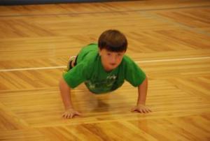 Awesome push-ups.