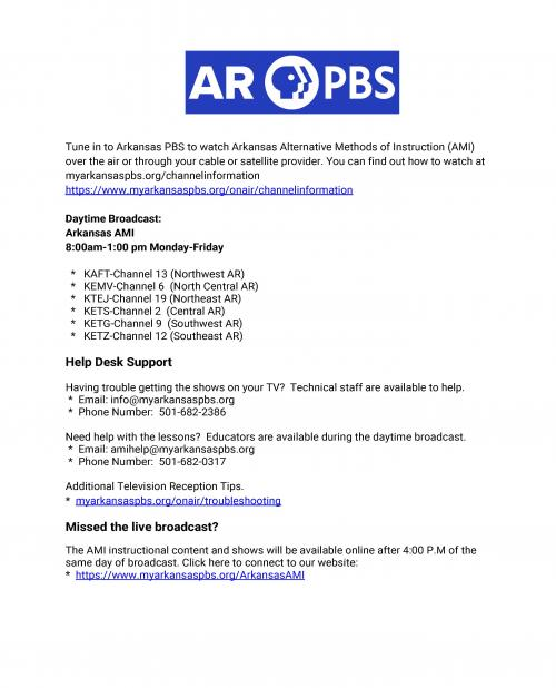 PBS AMI Assistance