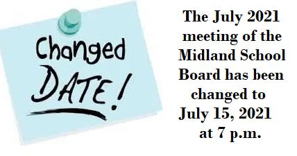 Board Meeting Date Change