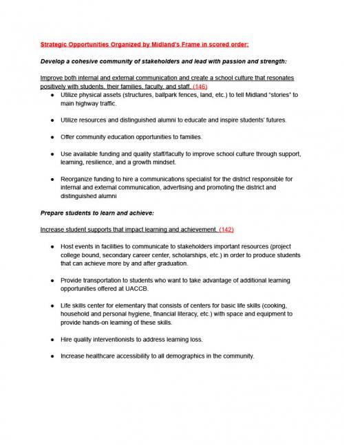 School Improvement Sheet 5