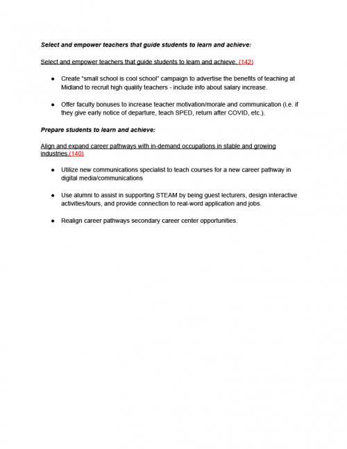 School Improvement Sheet 4