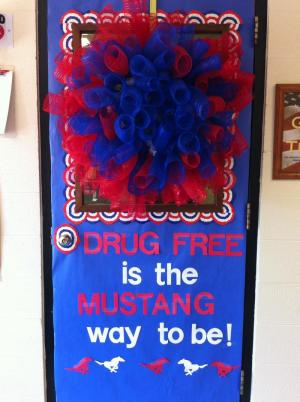 Our Drug-Free door decorations 2012