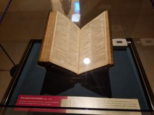 Shakespeare's First Folio on display at UCA (Summer 2016)