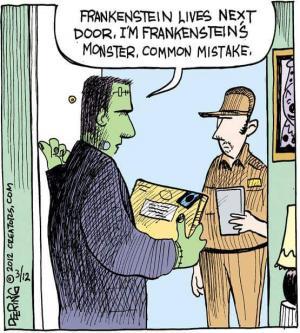 A little Frankenstein humor!