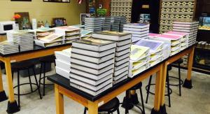 Books and Binders ready to go!