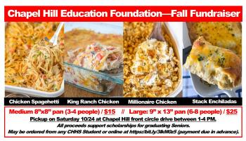 Chapel Hill Education Foundation (CHEF)- Fall Fundraiser