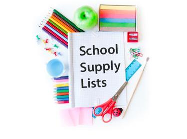 Elementary School Supply List 2021-2022