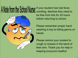 Thumbnail Image for Article A Note from the School Nurse