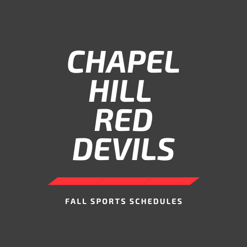 Fall Sports Schedules (JH & HS)