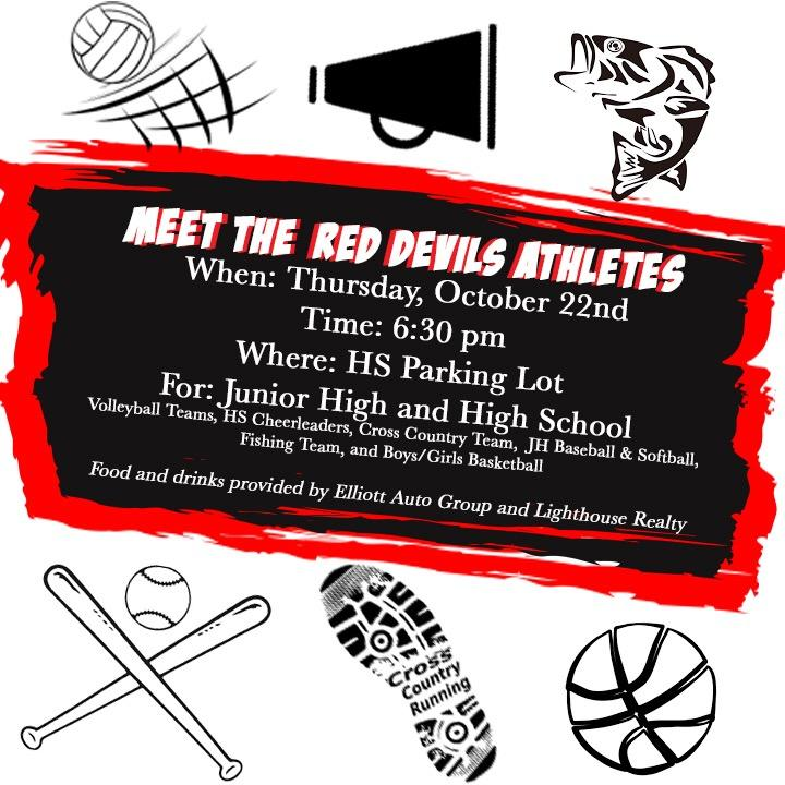 Meet the Red Devil Athletes- October 22