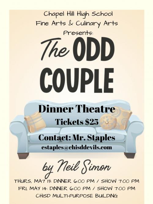 The Odd Couple Dinner Theatre