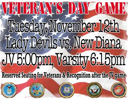 Veteran's Day Game