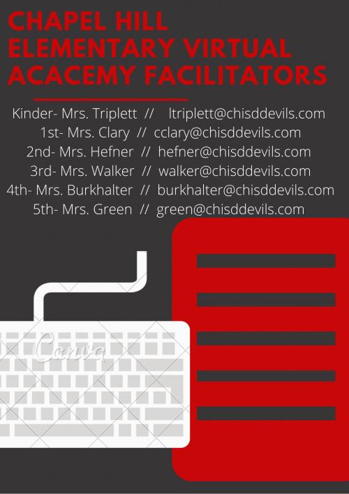 Elementary Virtual Academy Facilitators