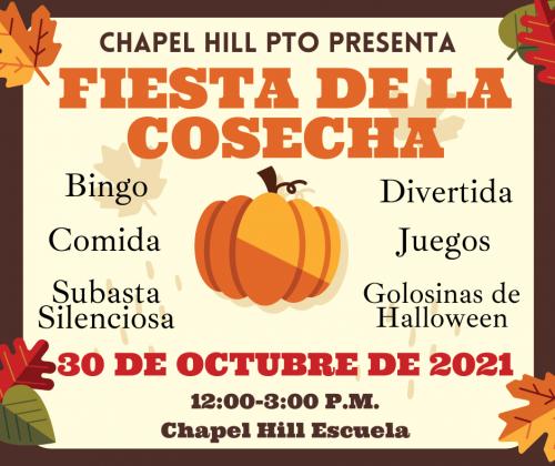 Harvest Festival- Spanish