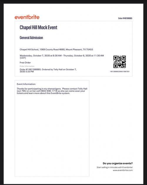 Event Brite Ticket PDF