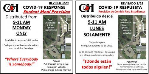 Food Distribution 3/29