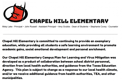 Elementary Learning Plan