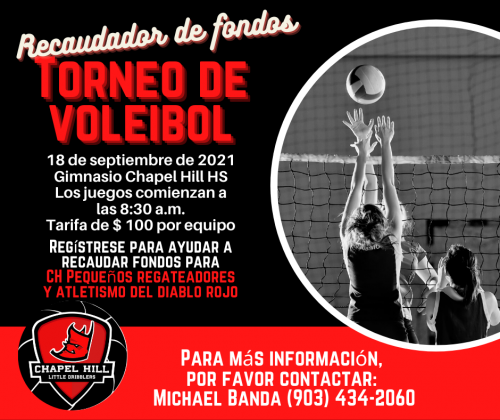 Little Dribbler Volleyball Tournament- Spanish