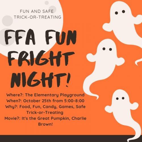 FFA FUN FRIGHT NIGHT