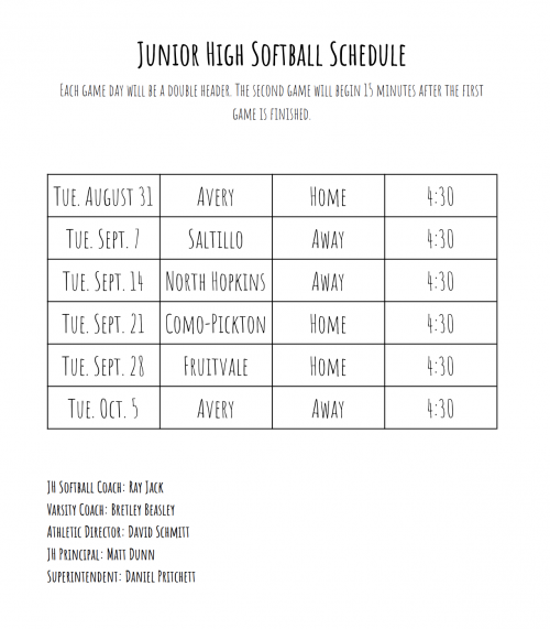 JH Softball