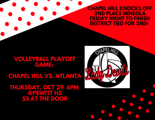 Volleyball Playoff Game