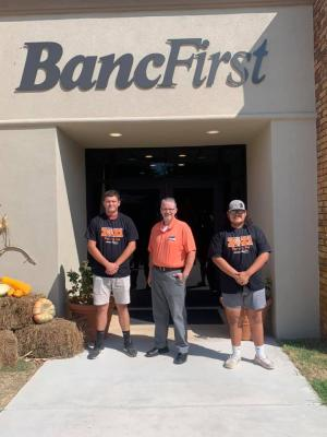 Congratulations to the BancFirst players of the week. Offensive player Payton Hunter, and Defensive player Kylar King
