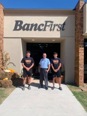 Congratulations to week 3 BancFirst players of the week Defensive player Jacob Leslie and Offensive player Fraysson Coody!!