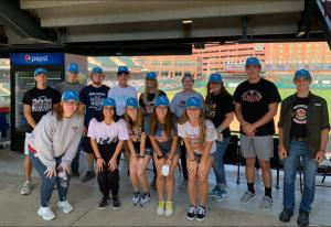 BPA OKC Dodgers Day, Students received free hats and a Ticket to the game.