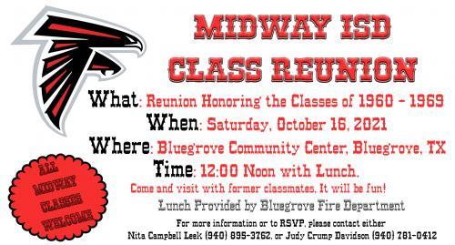 Midway Class Reunion 1960-1969