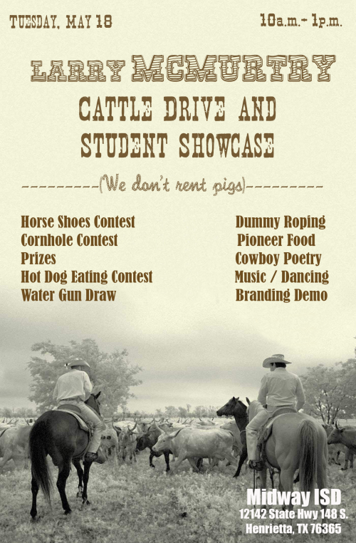 Poster Cattle Drive