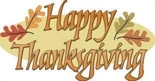 Happy Thanksgiving schools out Nov 22-24